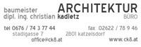 Architekt Dipl. Ing. Christian Kadletz
